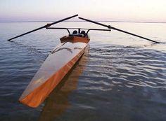 Bateau d'aviron de loisir / skiff Oxford Shell ARWEN MARINE