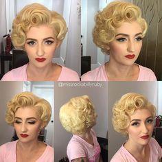 50 Pinup Frisuren Retro Glam Rockabilly Hair Rockabilly