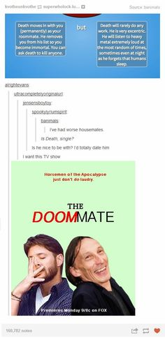 I would totally watch that if those two were the actors XD