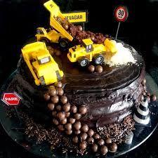 Resultado de imagem para bolo aniversario caminhoes 2nd Birthday, Birthday Parties, Digger Party, Acai Bowl, Birthdays, Meals, Breakfast, Desserts, Tractor