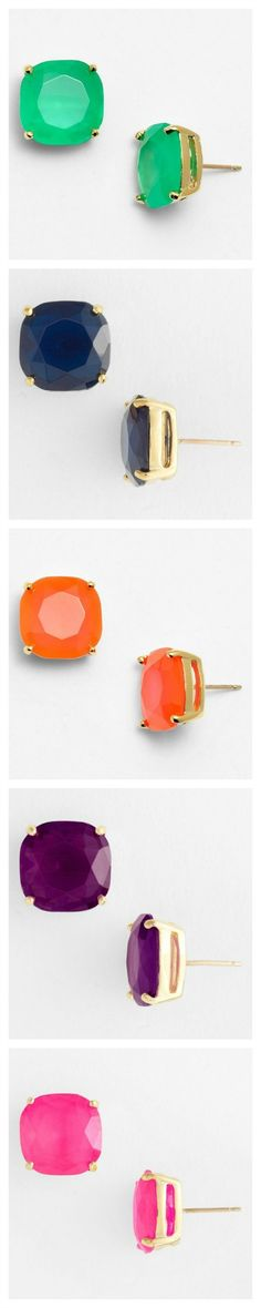 Kate Spade stud earrings - a favorite in any color