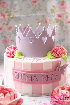 Princess cake... I love something like this for my baby girl's birthday!