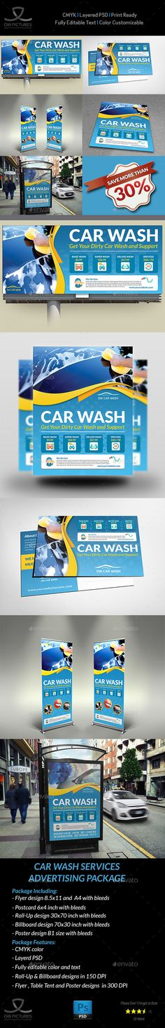 Business Promotion Car Wash  Car Wash Promotion And Photoshop