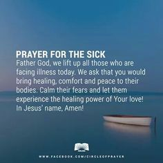My sincerest prayer of total healing and speedy recovery goes on her. Please do pray for this friend of mine, too. It would truly help a lot. Thanks, and God bless! Healing Scriptures, Prayer Verses, Faith Prayer, God Prayer, Prayer Quotes, Power Of Prayer, Faith Quotes, Bible Verses, Forgiveness Scriptures