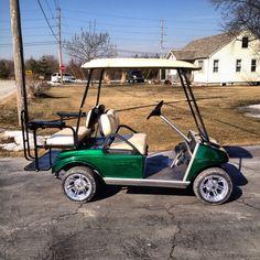 Carizzma painted club car golf cart.