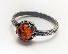 Peridoot Ring Peridot groen set in een zilveren kroon door BINSTER