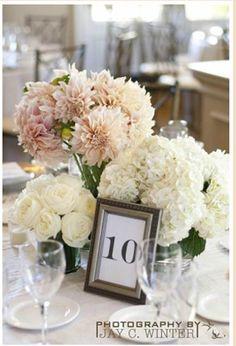 beautiful arrangement for a table centrepiece