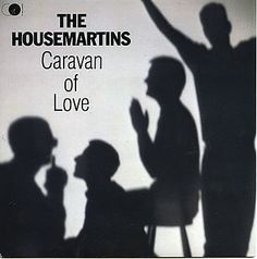 "For Sale - The Housemartins Caravan Of Love UK  7"" vinyl single (7 inch record) - See this and 250,000 other rare & vintage vinyl records, singles, LPs & CDs at http://eil.com"