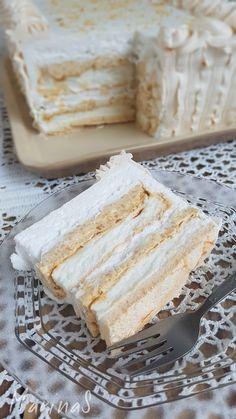 Japanski vetar – Recipe i have is the best and taste of this cake is amazing Dobos Torte Recipe, Torta Recipe, Torte Cake, Sweets Recipes, Gourmet Recipes, Baking Recipes, Cookie Recipes, Brze Torte, Kolaci I Torte