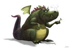 Isaac Orloff Illustration: Dragon