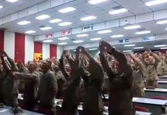 'Oorah!': The Viral Video of Marines Singing a Popular Christian Worship Song You Just Have to See    Sep. 18, 2014 3:02pm   Billy Hallowell