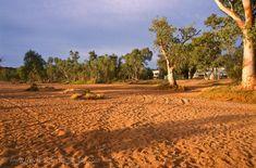 Todd River, dry river bed, Alice Springs