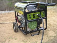 Sportsman GEN7000LP 7000-Watt 13 HP OHV Propane Powered Portable Generator. Lesson learned! I need this!