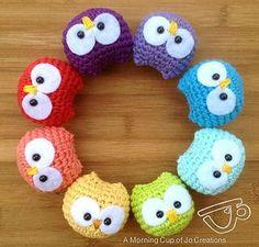 Owl Ornament - Next on my Summer ToDo List!! ~ Este es mi siguiente proyecto, ¿qué os parece?