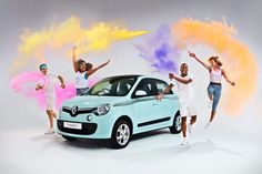 #Renault #Twingo – The Colour Run Edition #RePin by AT Social Media Marketing - Pinterest Marketing Specialists ATSocialMedia.co.uk