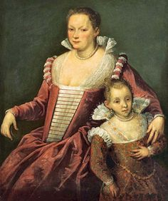 1590 Domenico Robusti (Tintoretto) Lady with Child