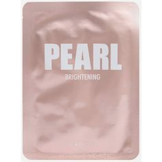 Pearl Brightening Sheet Mask ($2.99) ❤ liked on Polyvore featuring beauty products, skincare, face care, face masks, brightening mask, facial mask and face mask