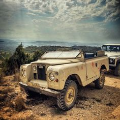 Land rover 88 Serie II convert highlights to Serie III.