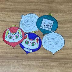 DIY Printable Cat Memorial Ornament Plant a Tree Memorial | Etsy Paper Christmas Ornaments, Pet Remembrance, Memorial Ornaments, Cat Memorial, One Tree, Trees To Plant, Your Pet, Kitty, Printables