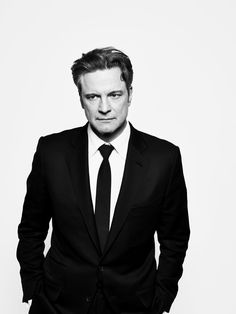 Colin Firth (1960) - English film, TV and theatre actor. Photo by Peter Hapak