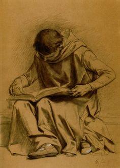 Cabanel, Alexandre (b,1823) – Monk Reading