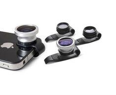 Gizmon clip-on iPhone cameras
