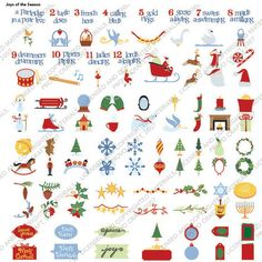 Cricut Cartridge - Joys Of The Season Samplesheet Image Sheet, Library Images, Cricut Cartridges, Paper Cards, Gift Tags, Christmas Cards, Projects To Try, Card Making, Joy