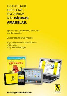 Tudo o que procuras encontras nas Páginas Amarelas
