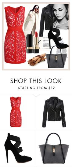 """RED"" by amnagirl ❤ liked on Polyvore featuring ASOS and Dolce&Gabbana"