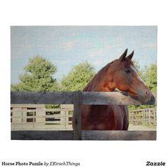 Horse Photo Puzzle