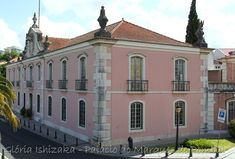 """SONY DSC1 - """"O Palácio do Marquês de Pombal ou Palácio do Conde de Oeiras é um solar típico do século XVIII  que fica localizado na freguesia de Oeiras e São Julião da Barra."""""""