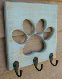 #perchero #huella #perro
