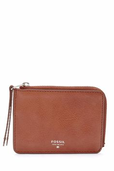 "Change is goodour zip coin purse is crafted of luxe leather in classic hues.  Measurements: 5""L x 0.5""W x 3.75""H  Sydney Zip Coin by Fossil. Bags - Wallets & Wristlets Omaha Nebraska"