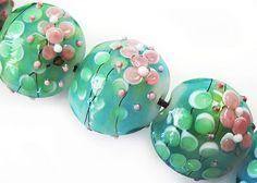 Handmade Glass Lampwork Beads