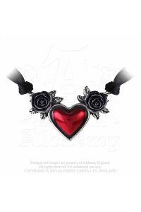 Alchemy Gothic - Halsband - Blood Heart