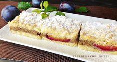 Veľmi krehký koláč s úžasne jemnou chuťou vlašských orechov v kombinácií sviežej a šťavnatej chuti sliviek, ktorý sa rozplýva na ... Sweet Recipes, French Toast, Cheesecake, Baking, Breakfast, Food, Basket, Morning Coffee, Cheesecakes