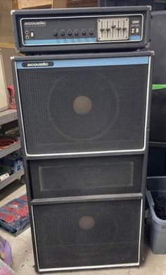 Guitar Cabinet, Valve Amplifier, Bass Amps, Vintage Guitars, Marshall Speaker, Guitar Amp, Acoustic, Rock And Roll, Cabinets