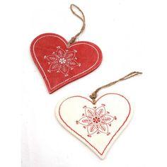 Woodland Hanging Heart Assorted Designs