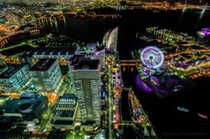 Yokohama by night 2 by Huy Tonthat on 500px