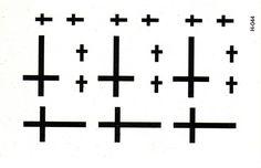 Exclusif d'origine étanche hommes et femmes anneaux personnalisé couverture cicatrices peint petit croix tatouages autocollant gros