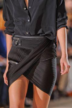 Hot!! There's just something about this I'm so into. mr  Anthony Vaccarello S/S 2013