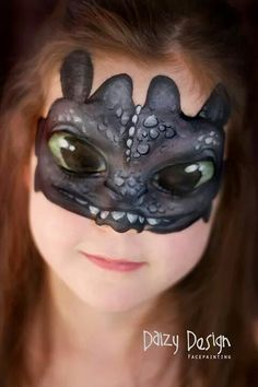 Inspiring Children& Makeup For Halloween by Christy Lewis Check out this inspiring Children's Makeup For Halloween by New Zealand artist Christy Lewis and her Daizy Design Face Painting. Adorable animals and more. Face Paint Makeup, Makeup Art, Childrens Makeup, Dragon Face Painting, Dragon Makeup, Kids Makeup, Face Painting Designs, How Train Your Dragon, Costume Makeup
