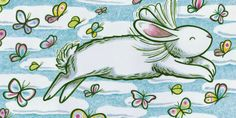 From LITTLE WHITE RABBIT. Illustration copyright 2011 by Kevin Henkes (The Little Crooked Bookshelf)