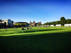 Museumplein in Amsterdam. Read tips on what to do in 3 days in Amsterdam with the perfect itinerary for Amsterdam!
