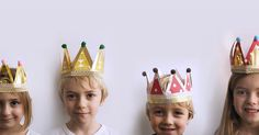 Épiphanie Diy, Epiphany, Paper Cutting, Diy For Kids, Crown, Tee Pee, Reyes, Centre, January