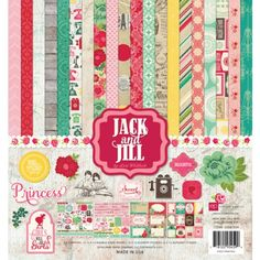 Echo Park - Jack & Jill - Girl - Collection Kit