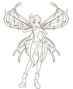 44 Best Winx Coloring Pages Images Cartoon Coloring Pages