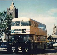 The origins of bus services in Dublin go back to the first horse tram, the Terenure route, in A network of tram routes developed quickly, and the network was electrified between 1898 and Ireland Pictures, Images Of Ireland, Old Pictures, Old Photos, Dublin City, Buses, Transportation, Memories, Trains