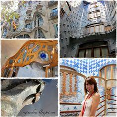 Casa Batlo, Barcelona. Love Gaudi's works!