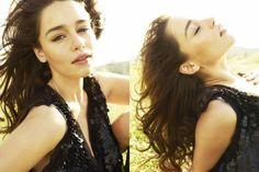 """... Photoshoot d'Emilia Clarke et quelques unes de ses co-stars dans """"Game http://www.bijouxmrm.com/"""